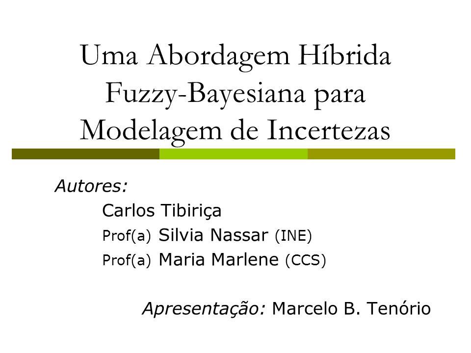 Uma Abordagem Híbrida Fuzzy-Bayesiana para Modelagem de Incertezas