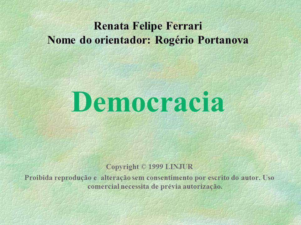 Nome do orientador: Rogério Portanova