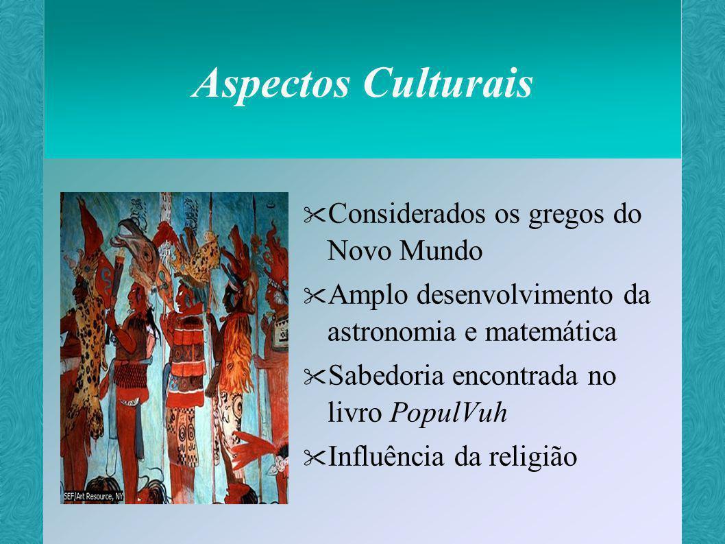 Aspectos Culturais Considerados os gregos do Novo Mundo