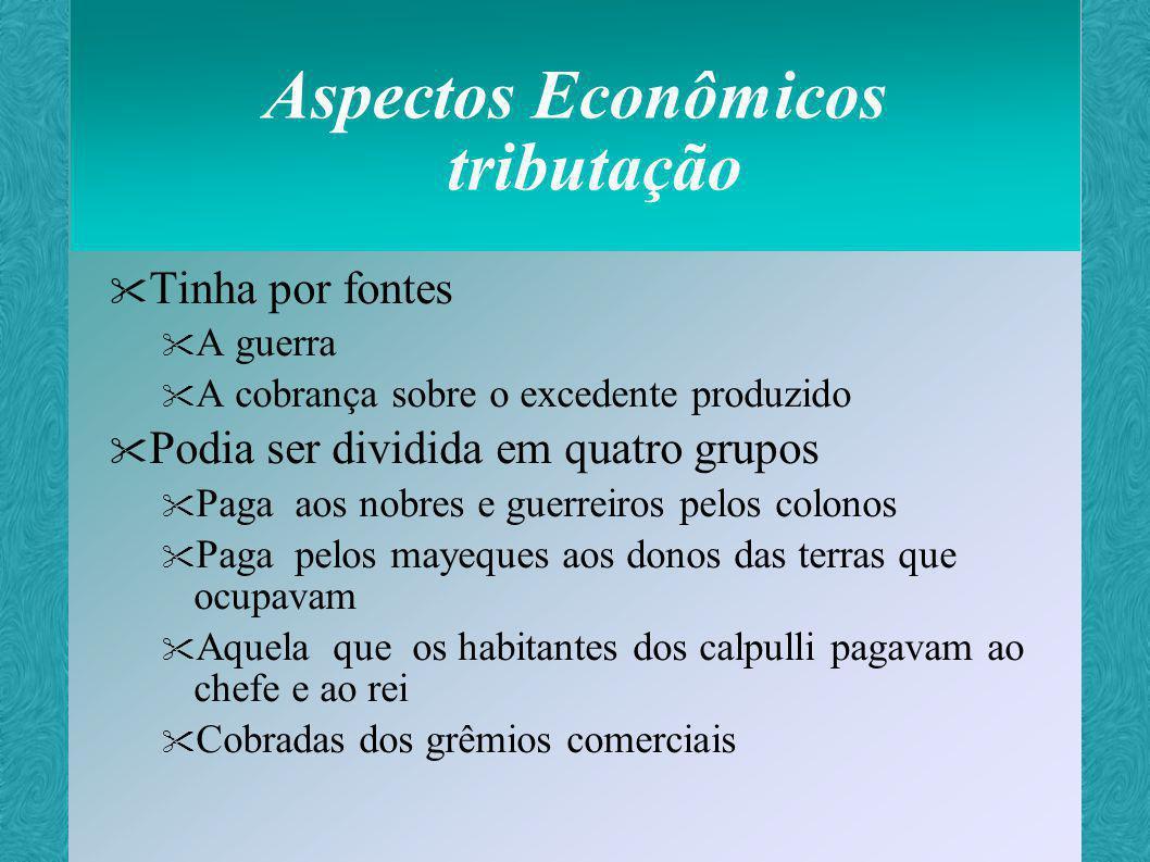 Aspectos Econômicos tributação