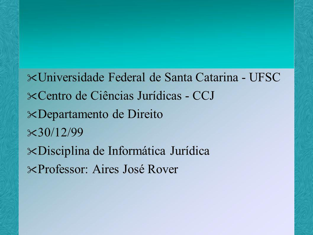 Universidade Federal de Santa Catarina - UFSC