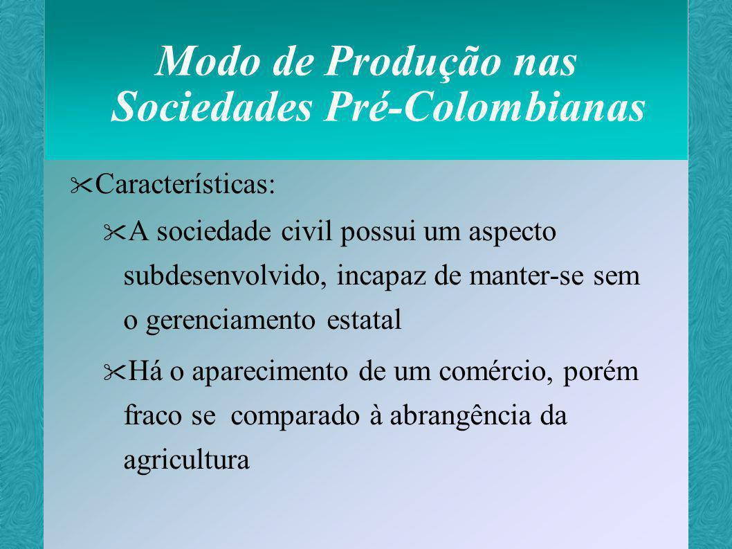 Modo de Produção nas Sociedades Pré-Colombianas