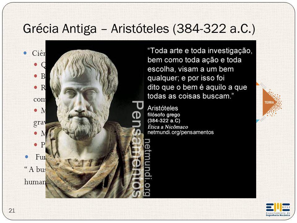 Grécia Antiga – Aristóteles (384-322 a.C.)