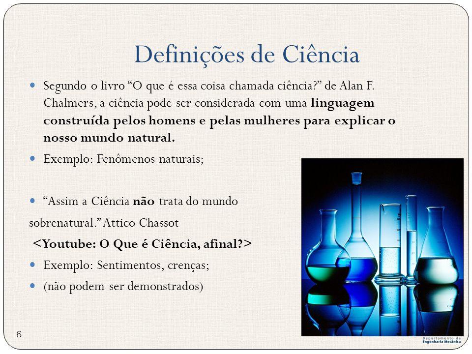Definições de Ciência