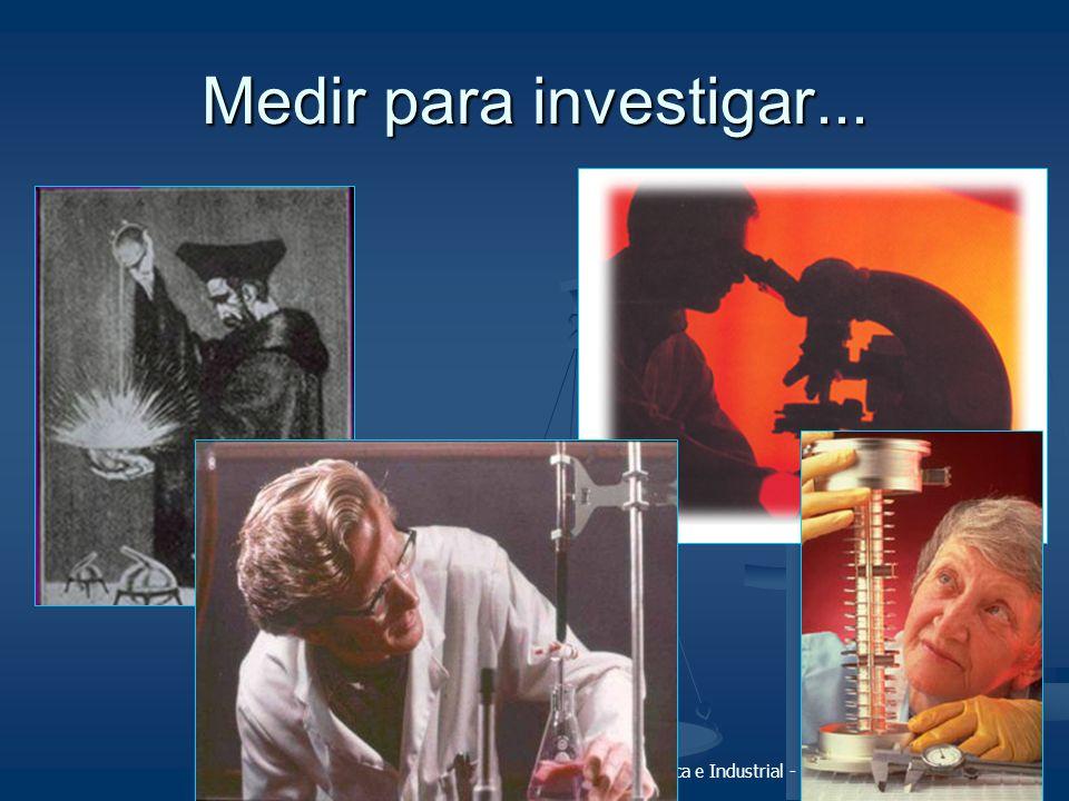 Medir para investigar...