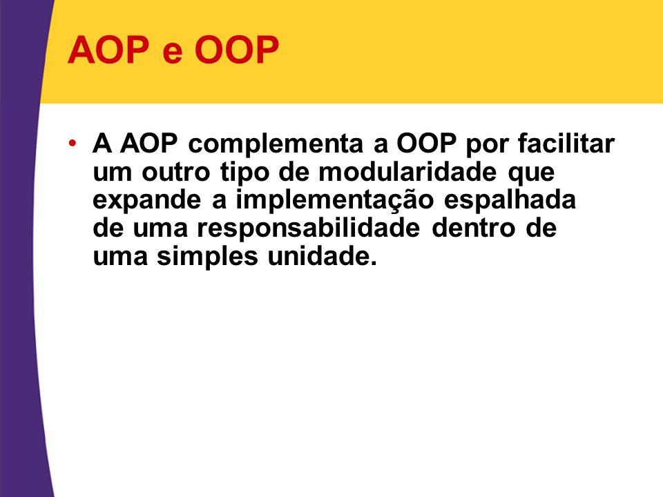 AOP e OOP