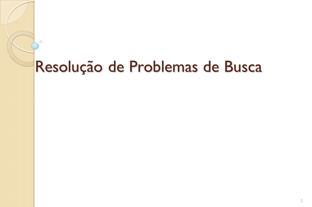 Resolução de Problemas de Busca