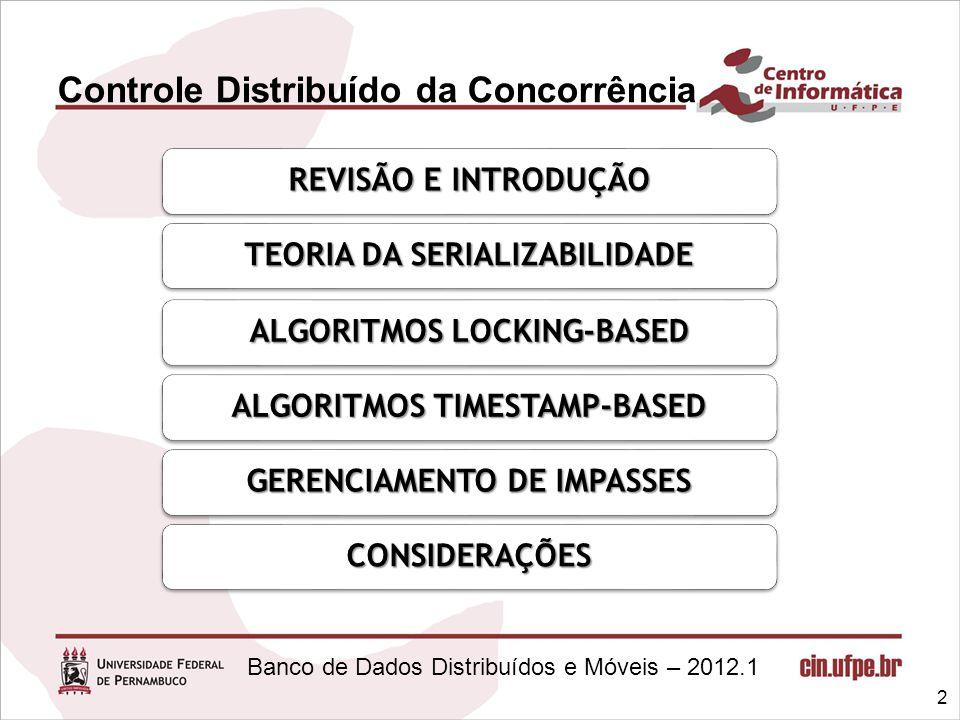 Controle Distribuído da Concorrência
