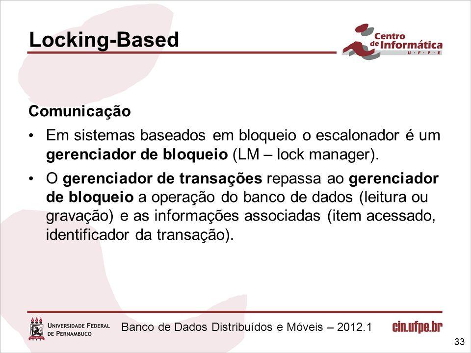 Locking-Based Comunicação