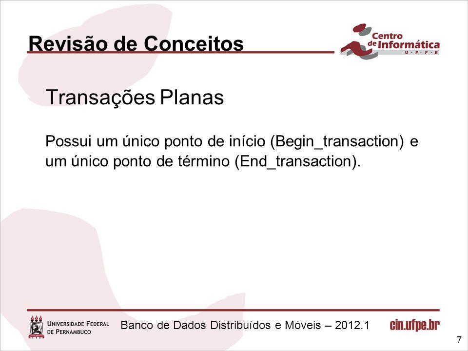 Revisão de Conceitos Transações Planas.