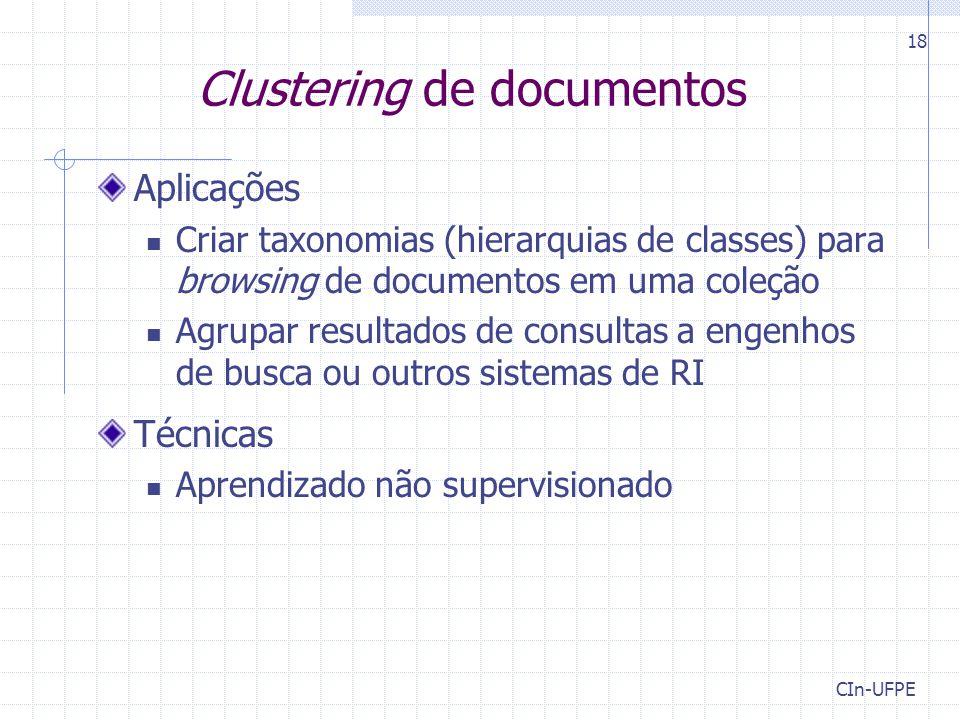 Clustering de documentos