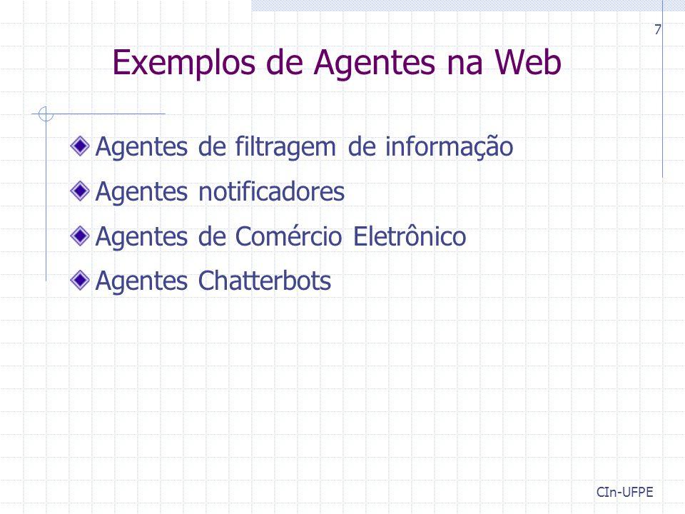 Exemplos de Agentes na Web