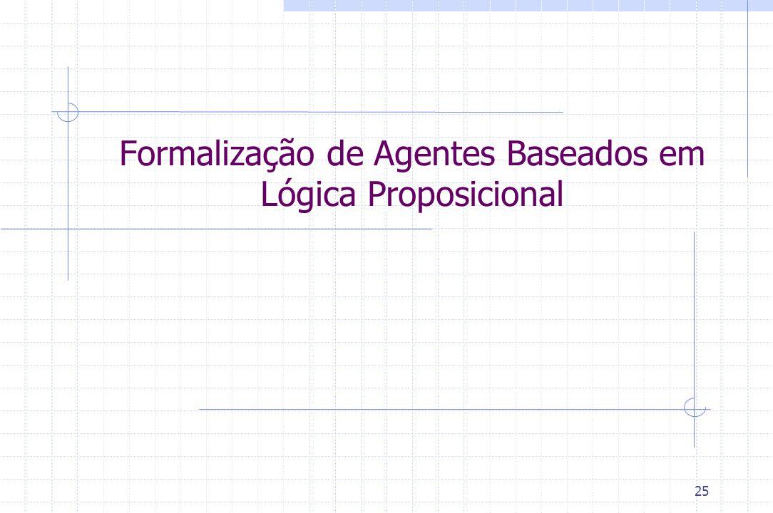 Formalização de Agentes Baseados em Lógica Proposicional