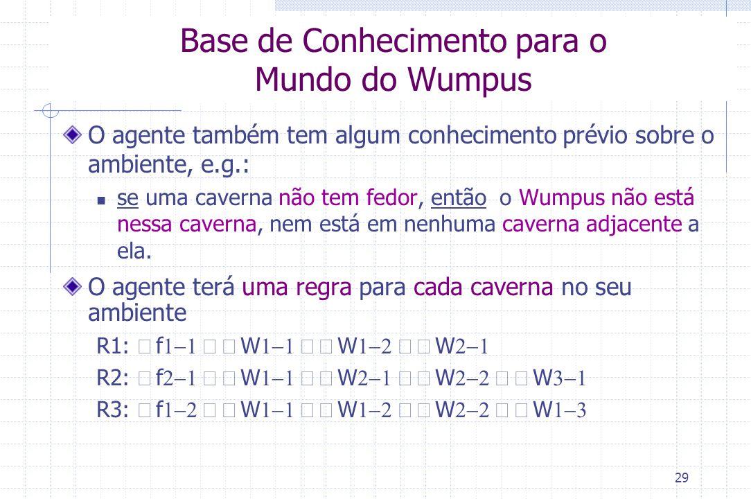 Base de Conhecimento para o Mundo do Wumpus