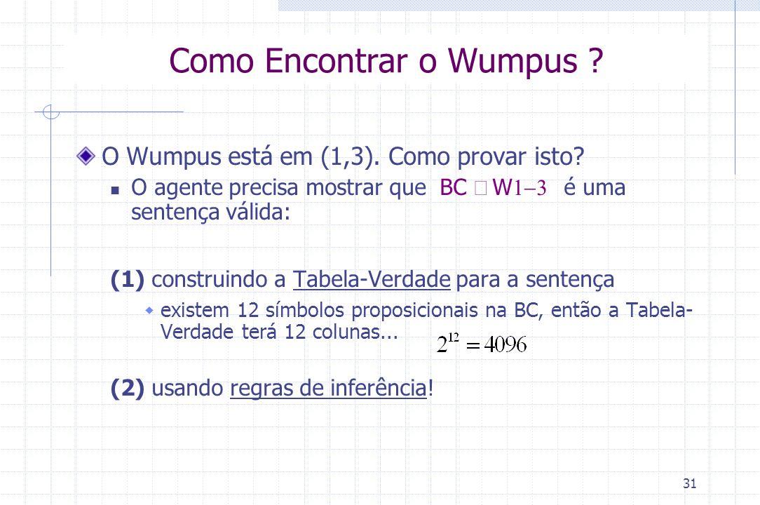 Como Encontrar o Wumpus