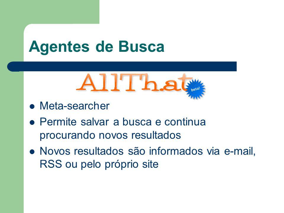 Agentes de Busca Meta-searcher