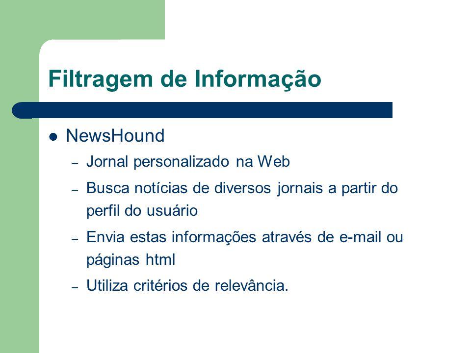 Filtragem de Informação