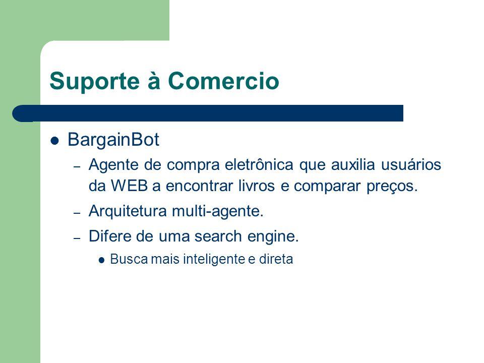 Suporte à Comercio BargainBot