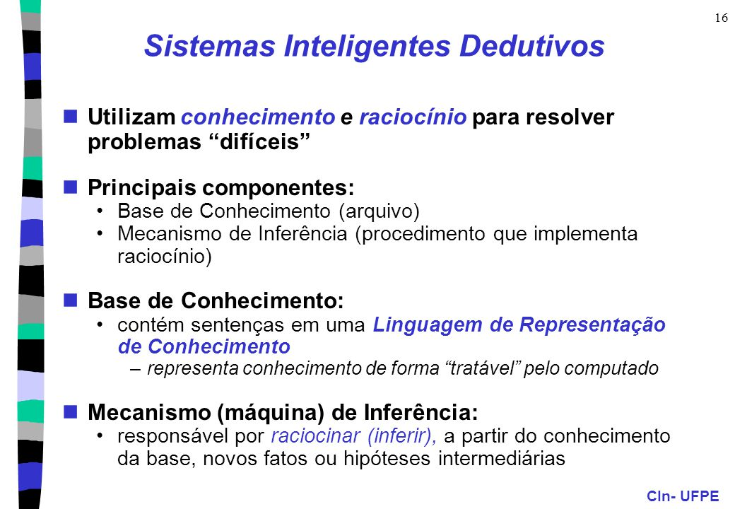 Sistemas Inteligentes Dedutivos
