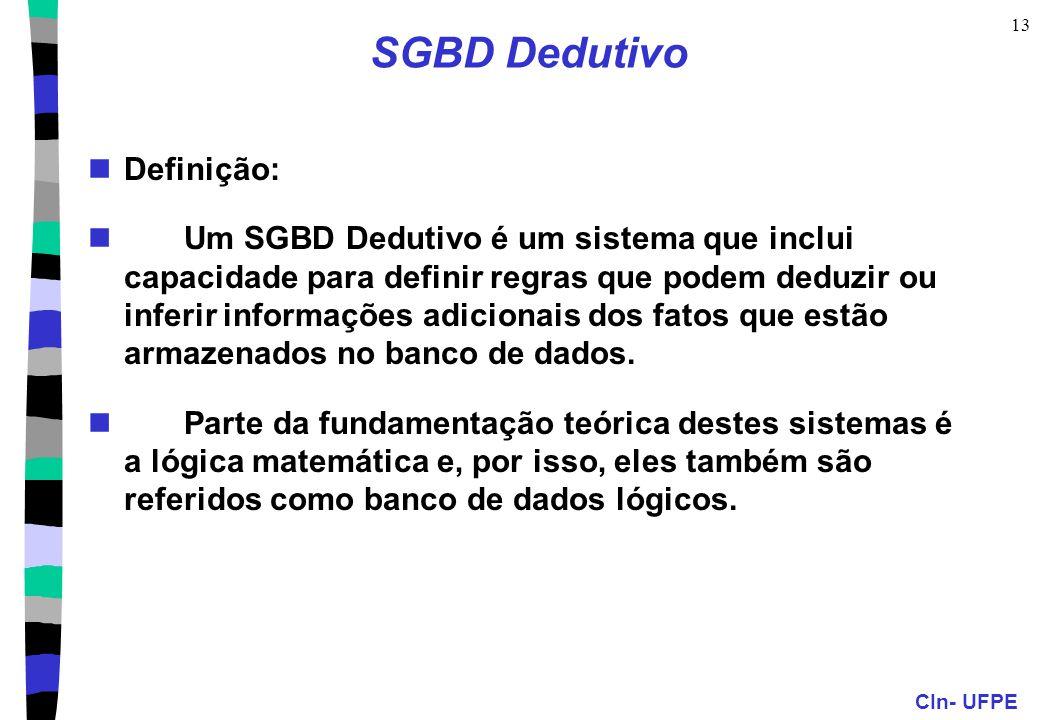 SGBD Dedutivo Definição: