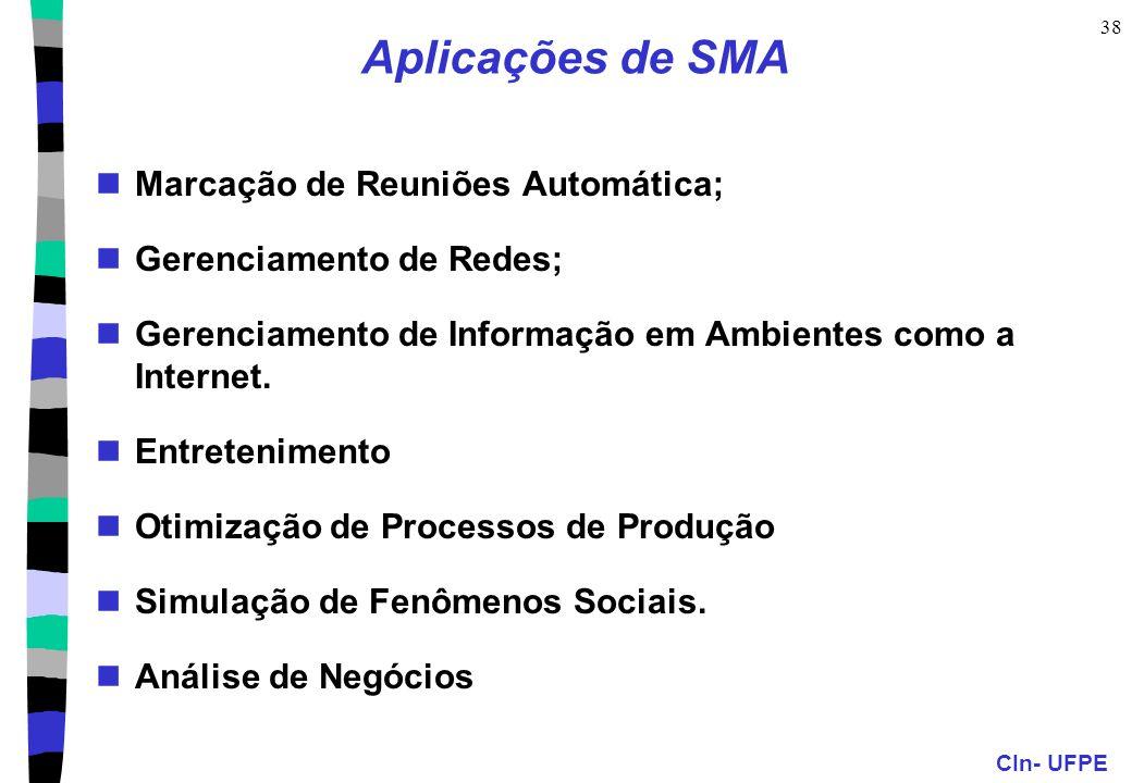 Aplicações de SMA Marcação de Reuniões Automática;