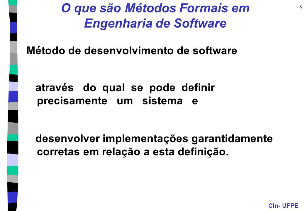 O que são Métodos Formais em Engenharia de Software