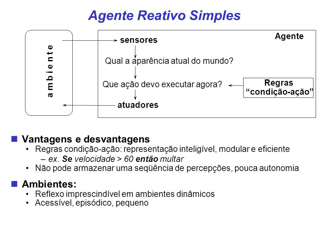 Agente Reativo Simples