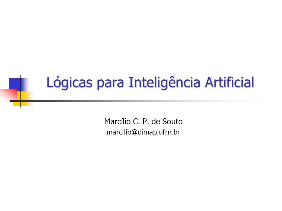 Lógicas para Inteligência Artificial