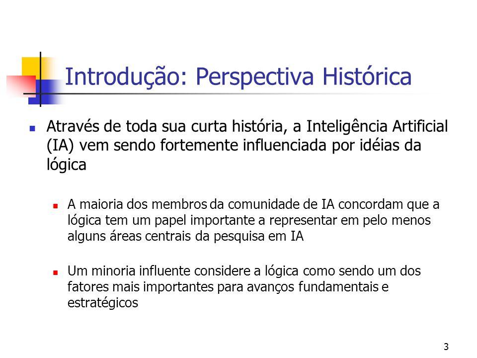 Introdução: Perspectiva Histórica