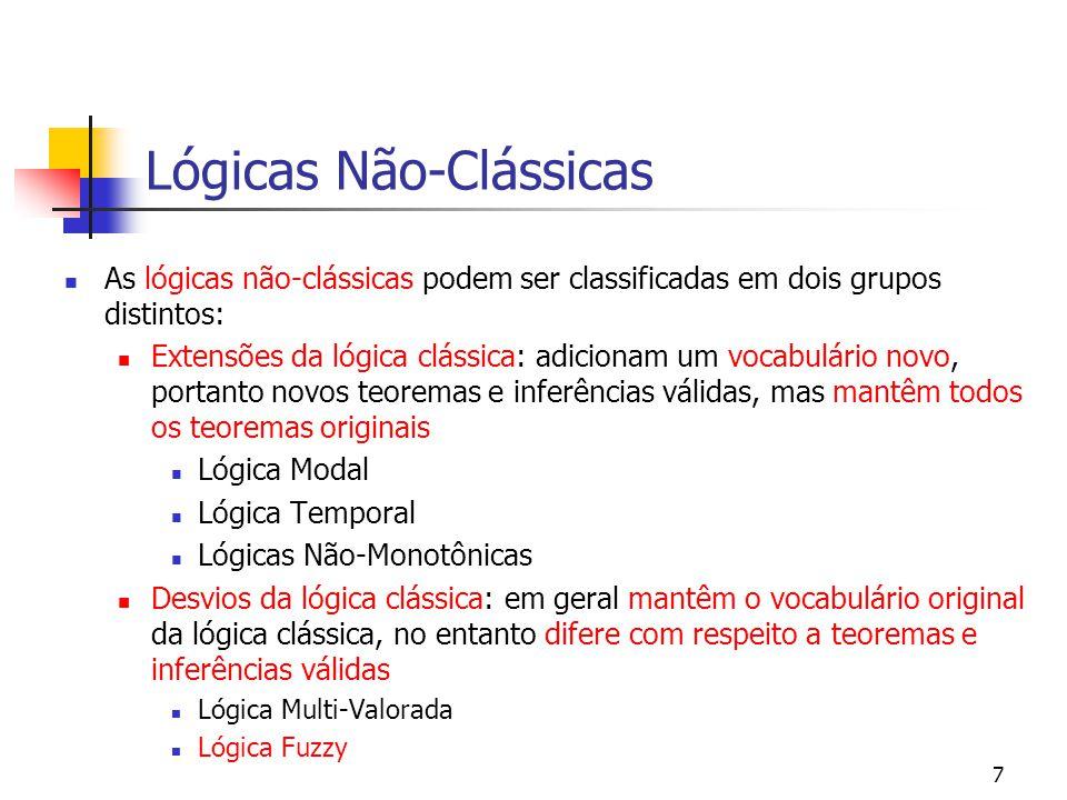 Lógicas Não-Clássicas