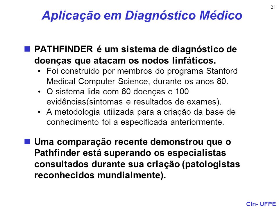Aplicação em Diagnóstico Médico