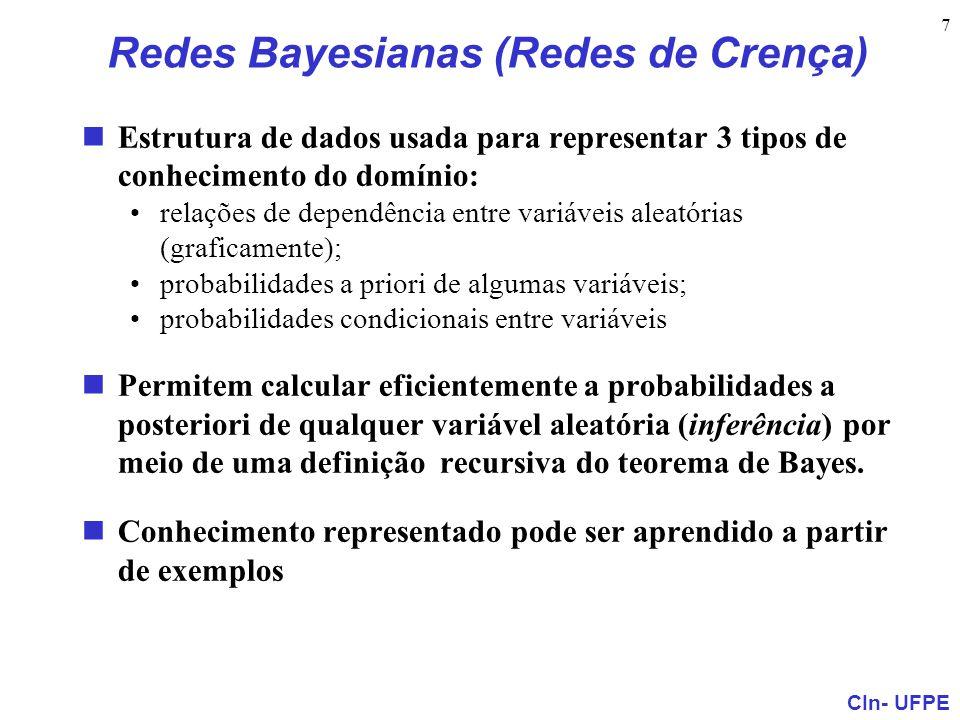 Redes Bayesianas (Redes de Crença)