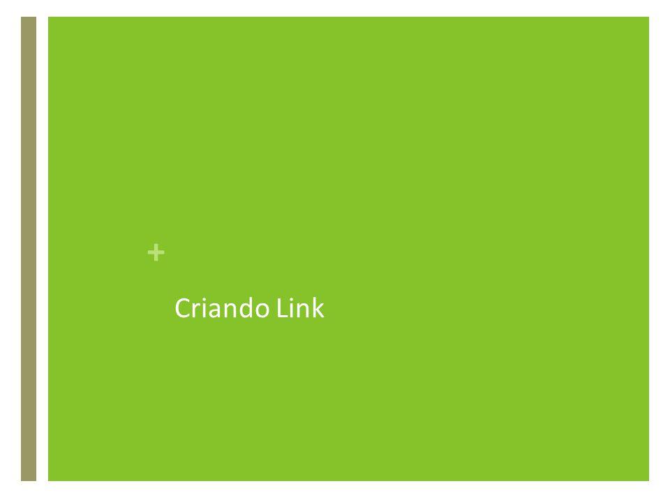 Criando Link