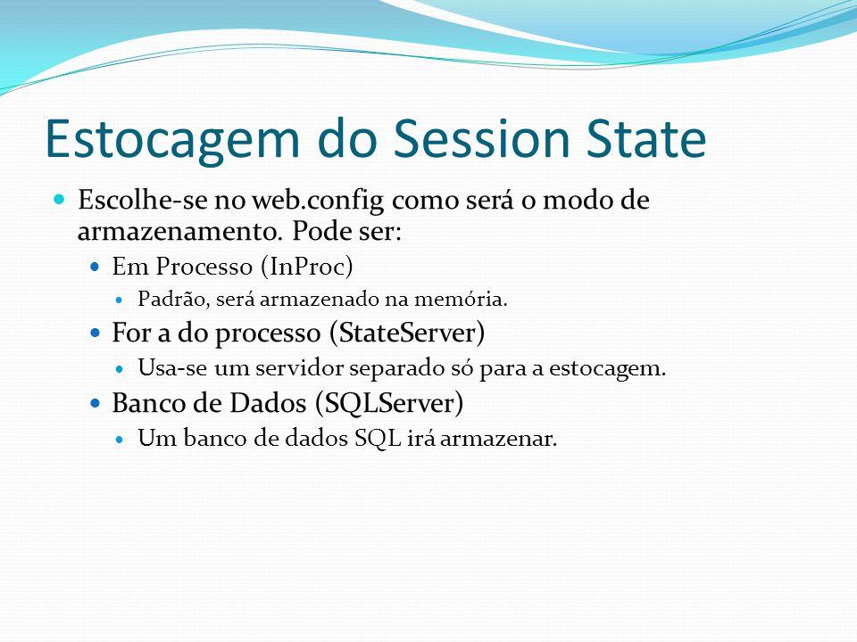 Estocagem do Session State