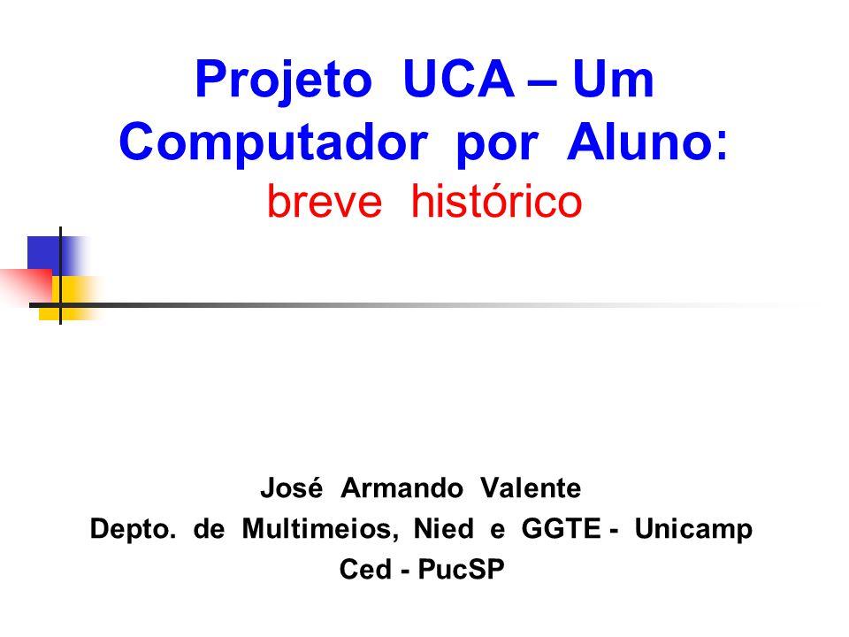 Projeto UCA – Um Computador por Aluno: breve histórico