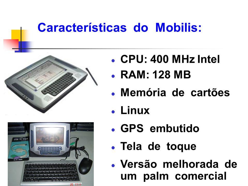 Características do Mobilis: