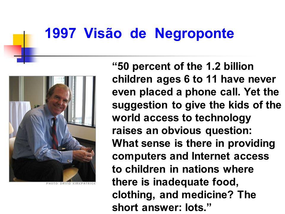 1997 Visão de Negroponte
