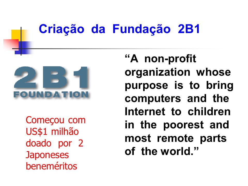 Criação da Fundação 2B1