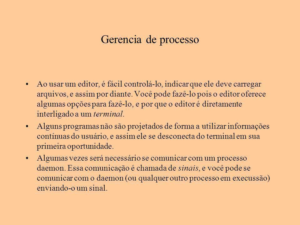 Gerencia de processo