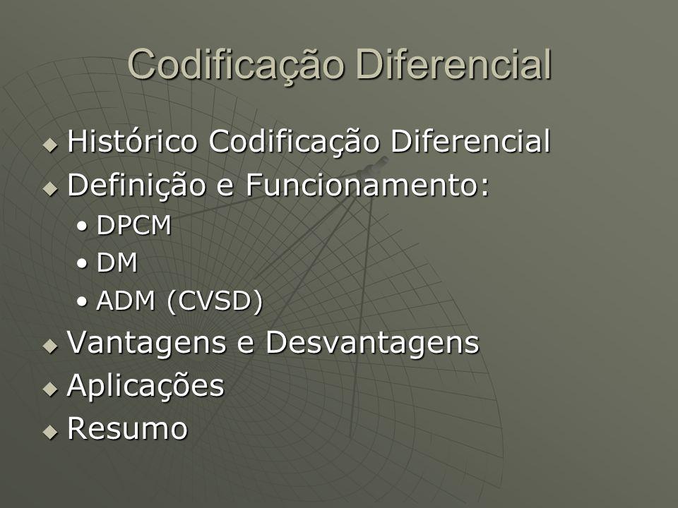Codificação Diferencial
