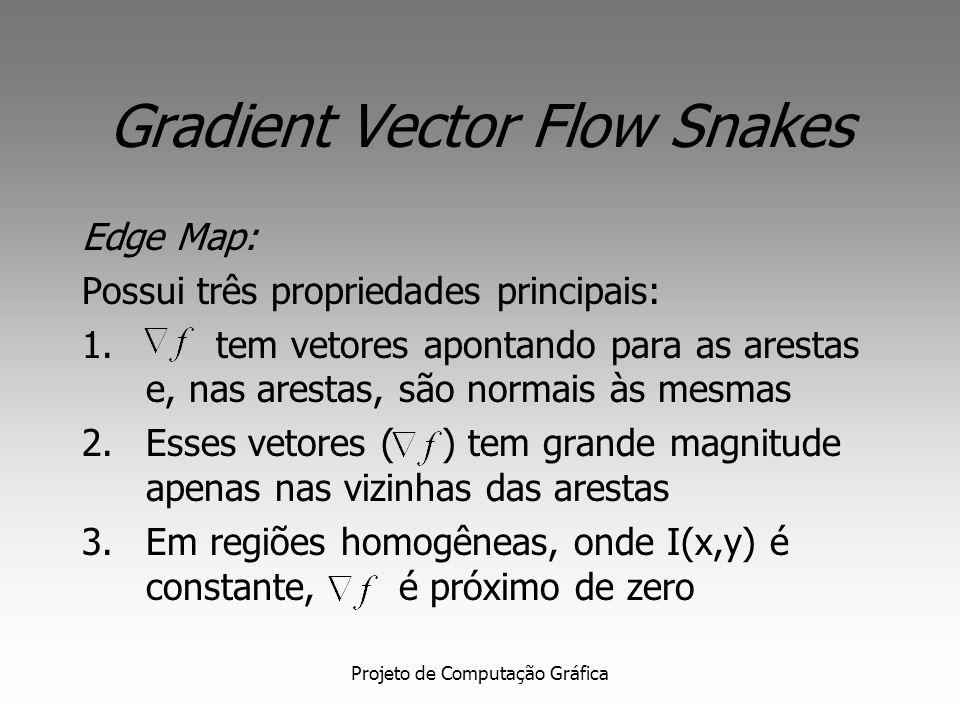 Gradient Vector Flow Snakes