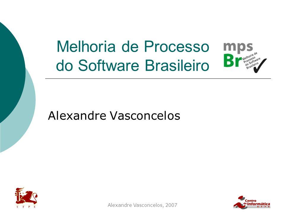 Melhoria de Processo do Software Brasileiro