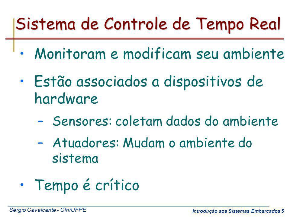 Sistema de Controle de Tempo Real