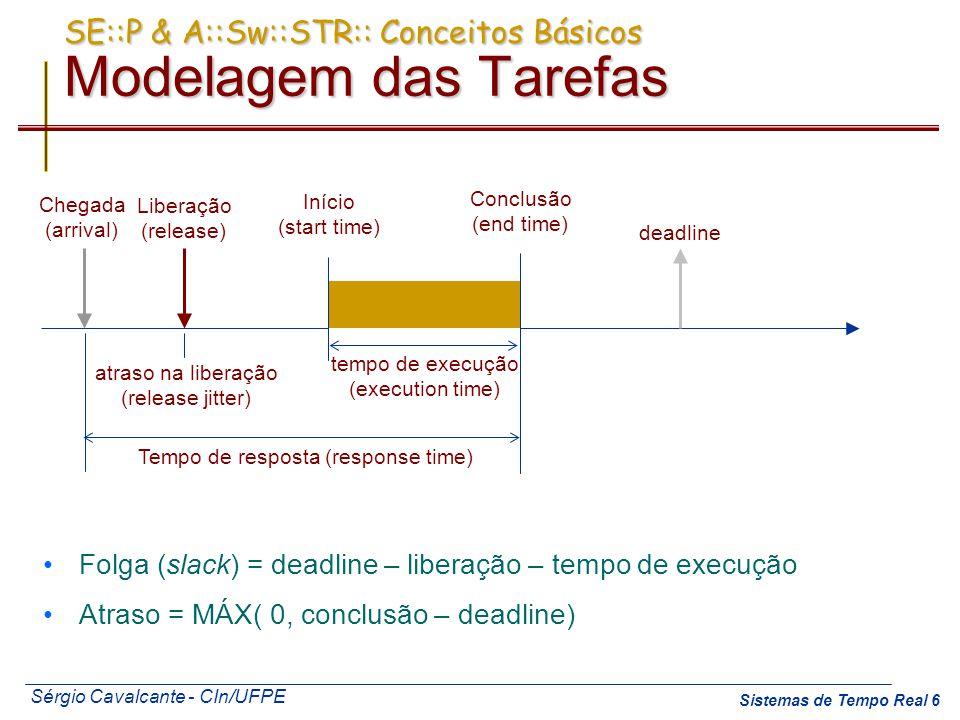 SE::P & A::Sw::STR:: Conceitos Básicos Modelagem das Tarefas