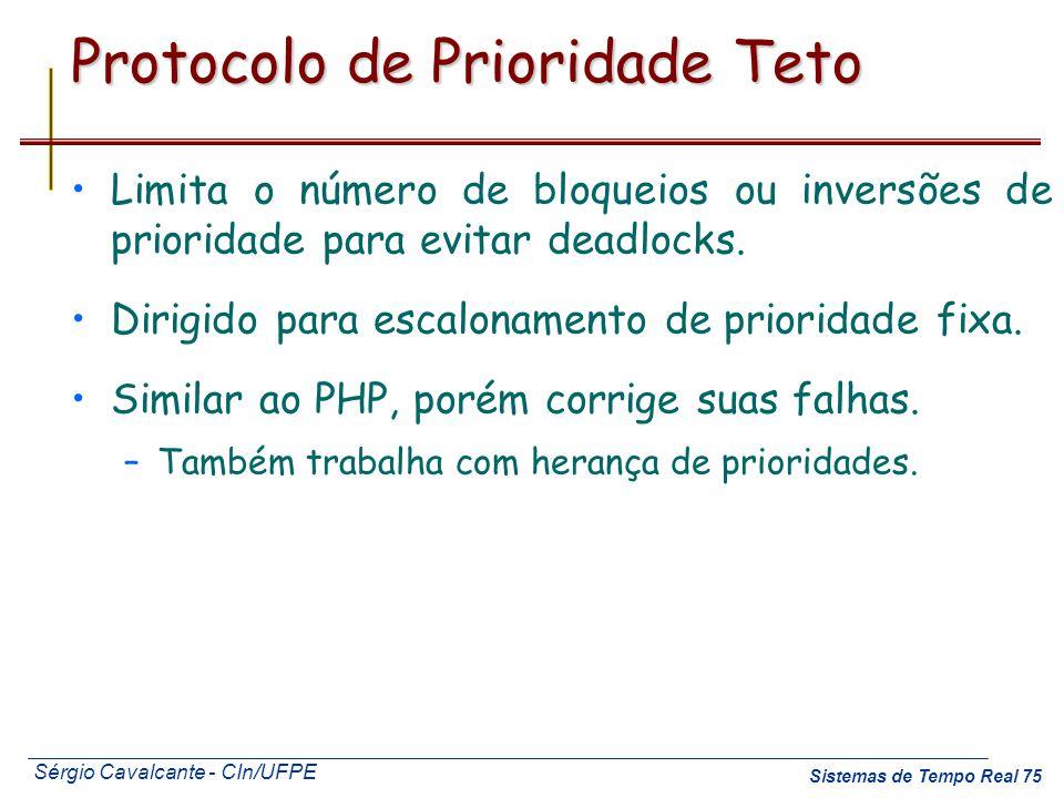 Protocolo de Prioridade Teto