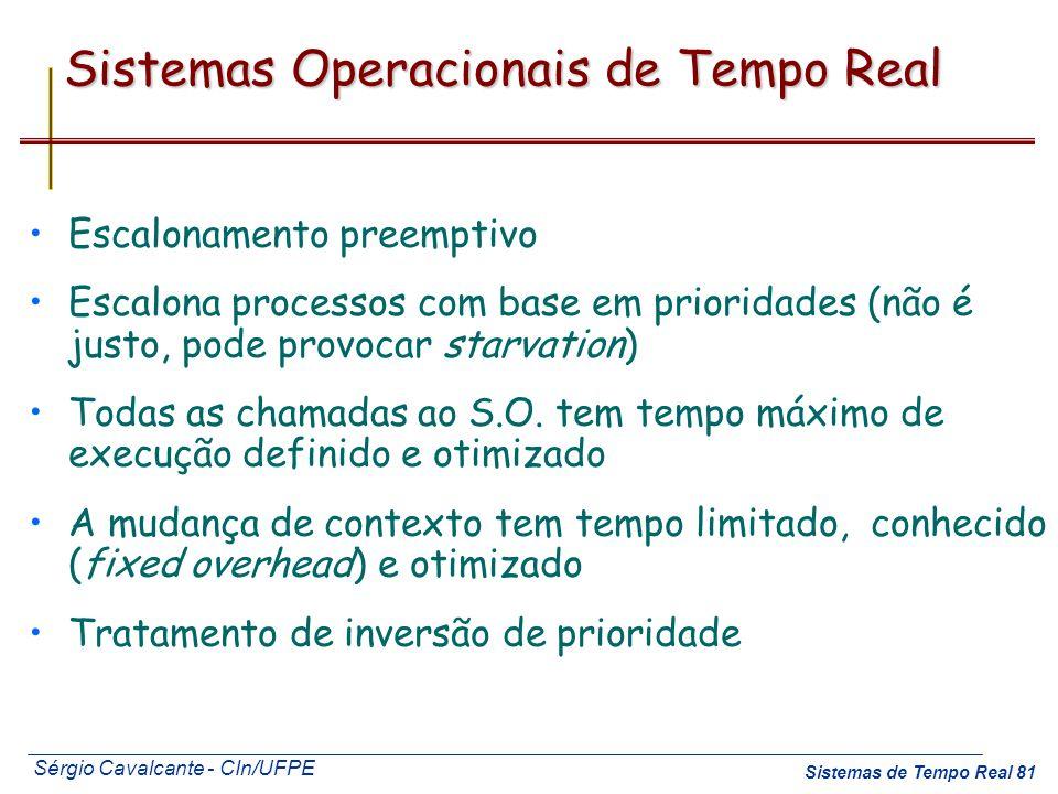 Sistemas Operacionais de Tempo Real