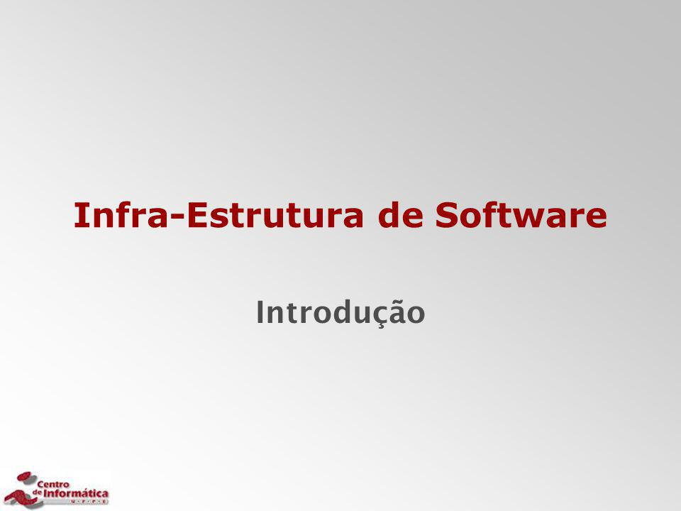 Infra-Estrutura de Software