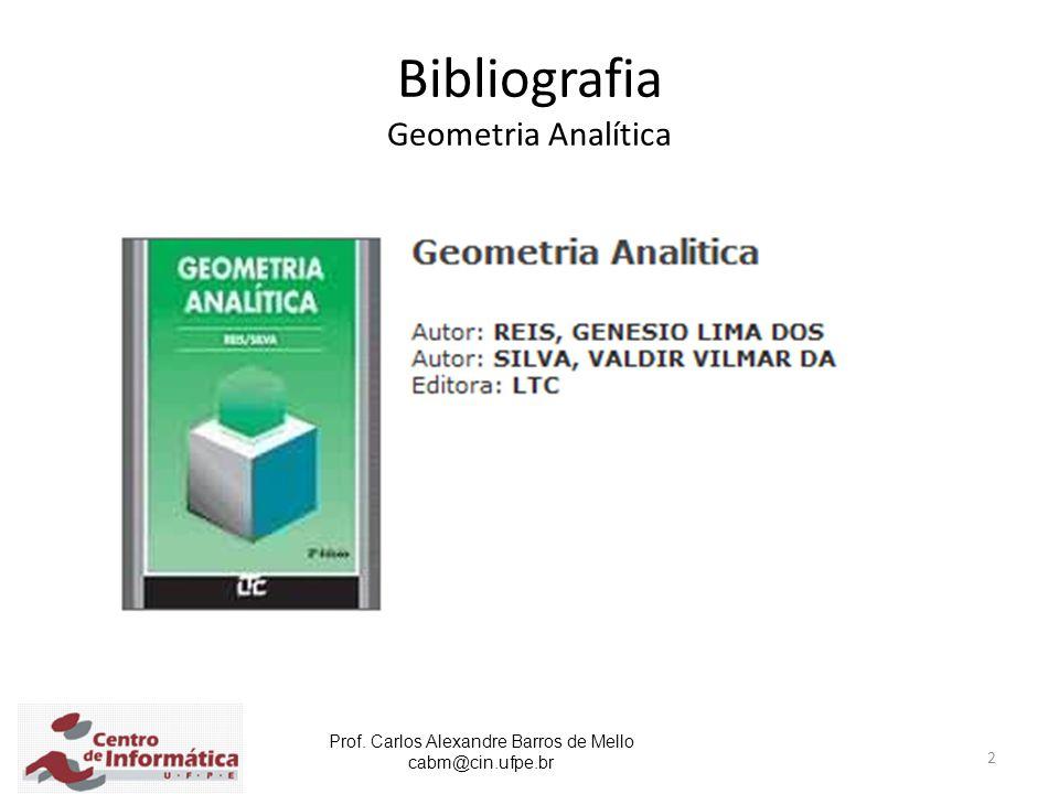 Bibliografia Geometria Analítica