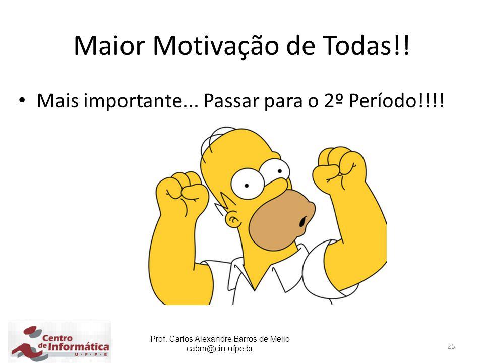 Maior Motivação de Todas!!
