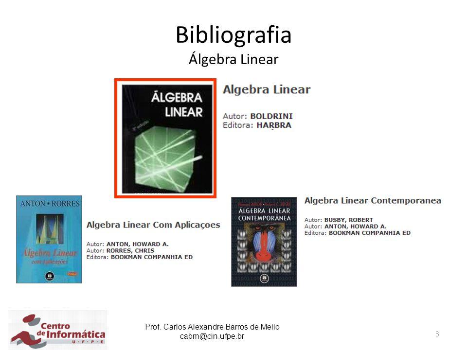 Bibliografia Álgebra Linear